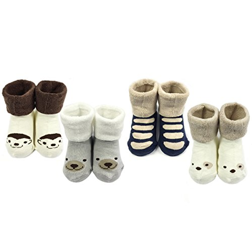 bowbear-baby-boys-4-pair-winter-furry-friends-socks