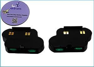 Brundle vintrons - 250 mAh batería de repuesto para COMPAQ MSA1000, ML350T2 P1266 tv2114, + apoyavasos vintrons