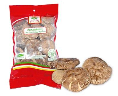 Tawan Large Dried Shitake Mushroom Vegan Food 80g By Thaidd -
