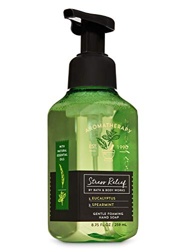 Bath & Body Works Aromatherapy Stress Relief (Eucalyptus+Spearmint) Gentle Foaming Hand Soap, 259ml