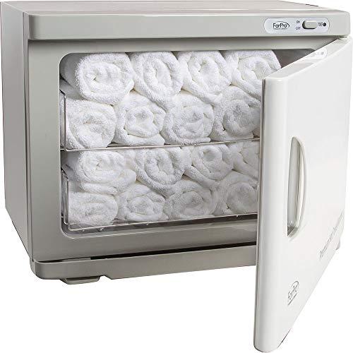 ForPro Premium Hot Towel Warmer, UV Sterilization, 24 Towel Capacity, Rust Resistant Towel Heater, 17.75 W x 11 D x 14 H
