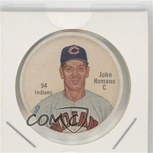 - John Romano Ungraded COMC Good to VG-EX (Baseball Card) 1962 Salada Tea/Junket Desserts All Star Coins - [Base] #94