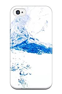 High-quality Durability Case For Iphone 4/4s(water) by mcsharks