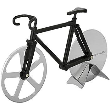 Amazon.com: Bicycle Pizza Cutter - Original PIZZA WHEELIE - Dual ...
