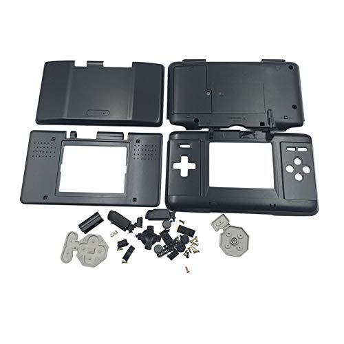 Replacement Cover Shell for Nintendo DS Console - Replace Case Anti Drop Housing with Screw Accessories for Nintendo DS NDS Console - Game Nentindo Ds