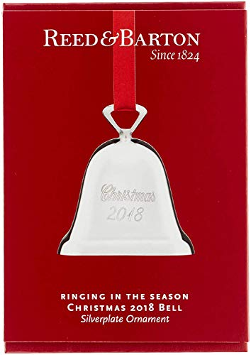 Reed & Barton Silver-Plated Bell Ornament ()