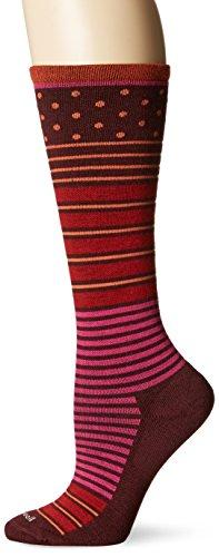 Sockwell Women's Twister Socks, Port, Small/Medium