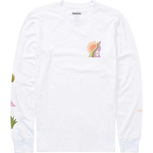 Billabong Men's Wandering Eye Long Sleeve T-Shirt White X-Large