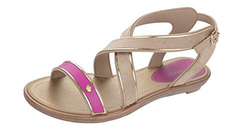 Grendha Amour Sandalias para mujer Beige / Pink