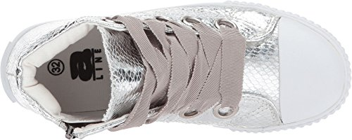 6 Girl's Toddler Amiana Adult Kid Big Little Kid A0920 Silver Snake tZwxxP