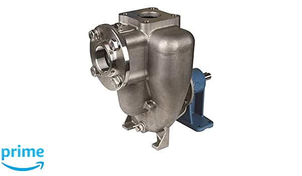 5.0 Impeller 5.0 Impeller In Stainless Steel Pedestal//Hydraulic.37 Cu MP Pumps 36848 FLOMAX8 2 x 2 Self Priming Centrifugal Pump