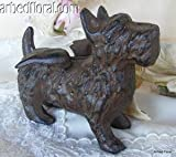 Scottie Dog Cast Iron Puppy Collectible Figurine Desktop Decor