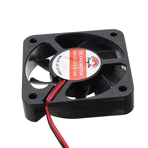 Min Dc 12 V Motocicleta Radiador Cargador Ventilador De Enfriamiento Refrigerador El/éctrico 5X5 Cm Alamor 5000R