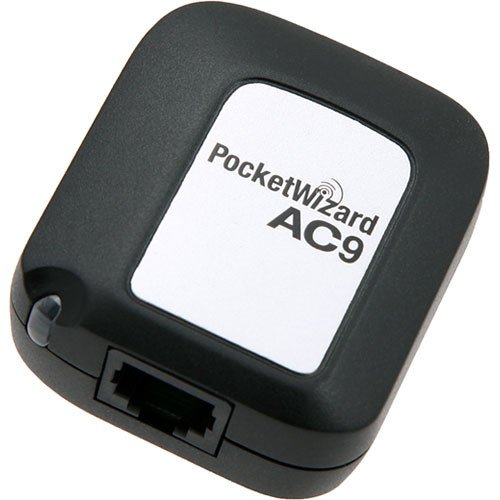 PocketWizard Canon AC9 AlienBees Adapter (Black)