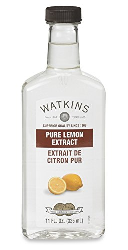 Watkins All Natural Extract, Pure Lemon, 11 Ounce (Packaging may vary)