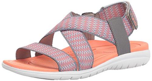 Ryka Kvinna Belmar Athletic Sandal Grå / Korall
