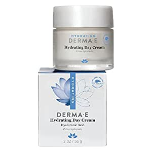 DERMA E Hydrating Day Cream with Hyaluronic Acid 2oz