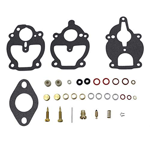New Carburetor Repair Kit For Zenith Carburetor 61 161 67 68 IH Farmall Wisconsin Allis Replace # K2112 K2111 - Kit Carburetor Zenith