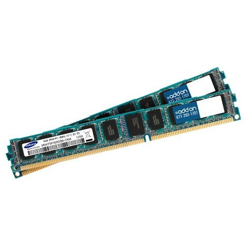Addon Factory Original 2Gb (2X1gb) Ddr1 266Mhz Dr Rdimm F/Ibm - 2 Gb (2 X 1 Gb) - Ddr Sdram - 266 Mhz Ddr266/Pc2100 - Ecc - Registered - 184-Pin - Dimm