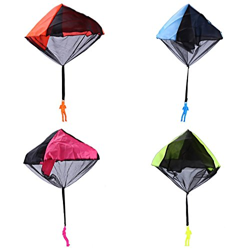 Throwing Parachute Kite Outdoor Nylon Cloth And Plastic Material, Non-toxic Recycled, No Harm To Your Child Play Game Toy by Kites