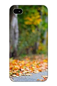 New Style Pirntalonzi Hard Case Cover For Iphone 4/4s- Baby Girl Autumn