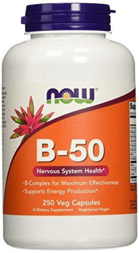 NOW Vitamin B 50 250 Capsules