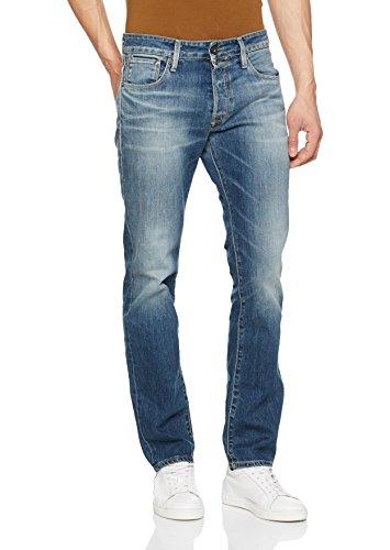 Noos Jones blue Jack Jjiclark Uomo Jjicon Jeans 721 amp; Bl Denim Blu Rvrx5YR