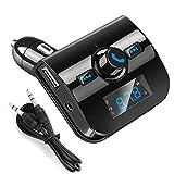 FidgetFidget FM Transmitter Wireless MP3 Radio Adapter USB Charger Car Kit Bluetooth 3.5mm 4.0