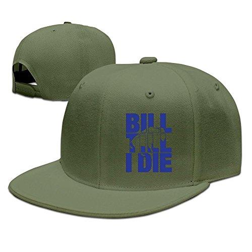 hello-robott-bill-till-i-die-adult-male-female-cotton-adjustable-hat-baseball-cap-forestgreen