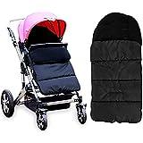Diagtree Baby Sleeping Bag Universal 3 in 1 Stroller Annex Mat Footmuff Cover Stroller Bunting Bag Waterproof Windproof…