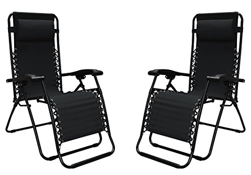 Caravan Canopy 80009000052 Sports Infinity Zero Gravity Chair (2 Pack), Black Review