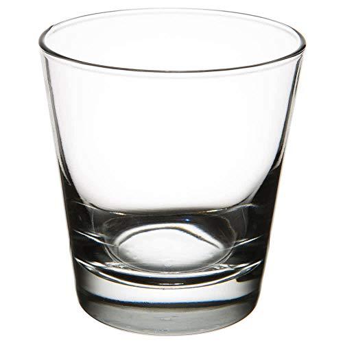 Set of 6 Libbey #127 Heavy Base 6.5 oz Rocks / Old Fashioned Glass w/ Signature Party Picks (Heavy Oz 7 Libbey Base)