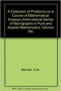 Problem book in mathematical analysis