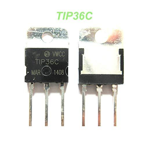 50PCS TIP36C TP36 TO-218 Bipolar Transistors - BJT 25A 100V 125W NPN New Original