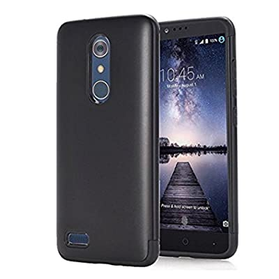 For ZTE Zmax Pro Z981, Mchoice Hybrid ShockProof Hard Protective Case Cover for ZTE Zmax Pro Z981