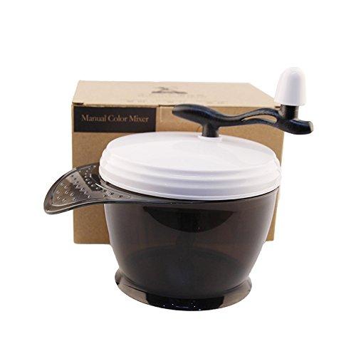 Professional Retail Box (Mythus Salon Hair Color Mixing Bowl With Retail Box Professional Hairdressing Manual Hair Dyeing Mixer Featured Hair Tool)