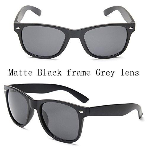 Sol de Guía Hombres UV400 Negros de Hombres C5 de Sol para Gafas Macho Sol Matte polarizadas Gafas 100 ZA214 Polaroid Espejos ZA214 Sunglasses Gafas TL C1 Puntos Gafas B DE Frame Leopard wZ0qII
