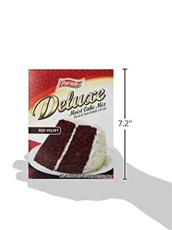 Amazon.com : Parade Cake Mix, Red Velvet, 16.5 Ounce (Pack of 12) : Grocery & Gourmet Food