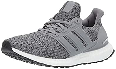 adidas Men's Ultraboost, Grey/Black, 4 M US