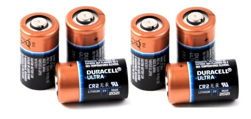6 Duracell Ultra CR2 3v Lithium Photo Batteries DL-CR2