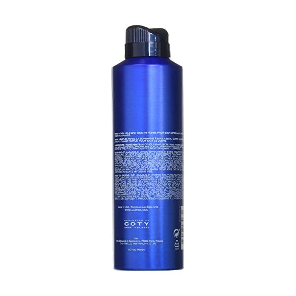 Nautica Blue Sail Men's Deodorizing Body Spray