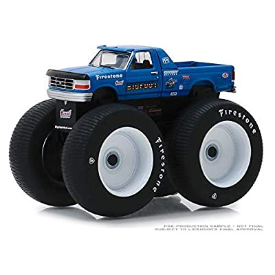 GreenLight 1/64 Kings of Crunch Series 4 - Bigfoot #5-1996 Ford F-250 Monster Truck 49040E: Toys & Games