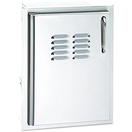 Aurora Single Access Storage Door With Tank Tray Hinged Side: Left