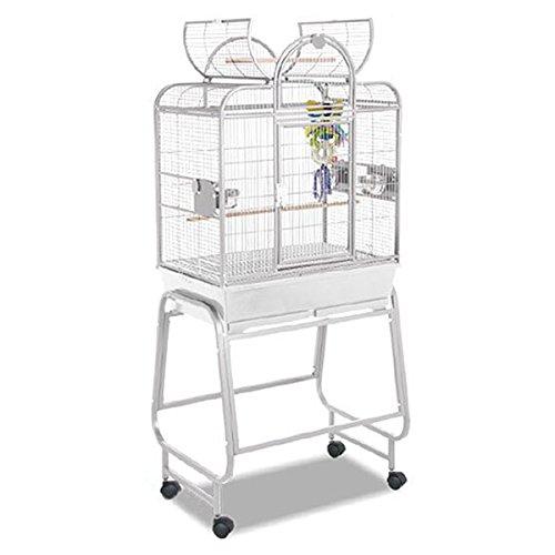 Montana Cages | Sittichkäfig, Käfig, Voliere, Vogelkäfig San Remo II - Platinum DER ALLESKÖNNER