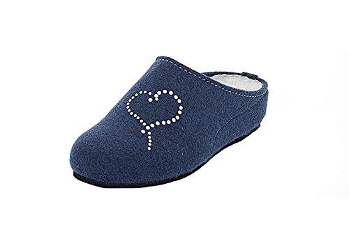 Pantoufle ara Jeans blau 05 Dames 29968 15 Bleu CFqnwZF5z