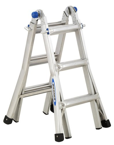 Werner MT-13 300-Pound Duty Rating Telescoping Multi-Ladder, 13-Foot by Werner