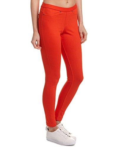Hue Womens Original Denim Legging, S, Red (Hue Legging Red)