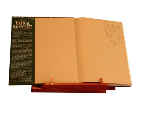Wooden Wall Mount Book Holder