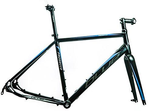 BLUE Prosecco Disc Cyclocross Gravel Endurance Road Bike Frame XXS 49cm NEW