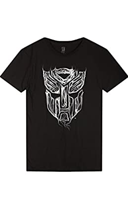 2LUV Anime Men's Men's Transformer Short Sleeve Cartoon Cotton T Shirt